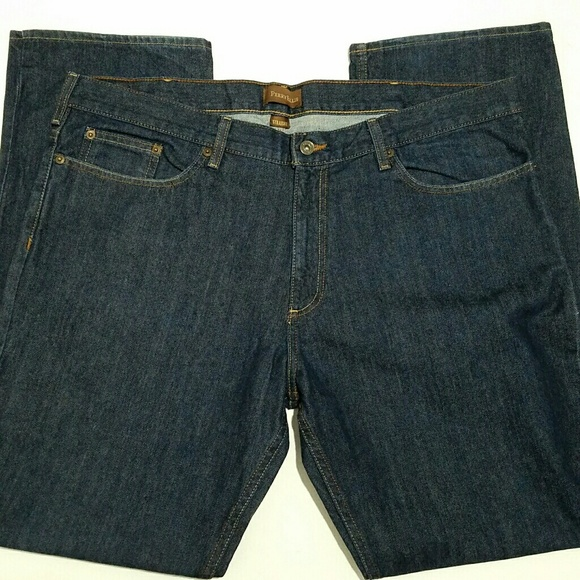 33 Perry Ellis Men's Jeans Slim Low Rise Straight Leg 32 38 Dark Wash Denim